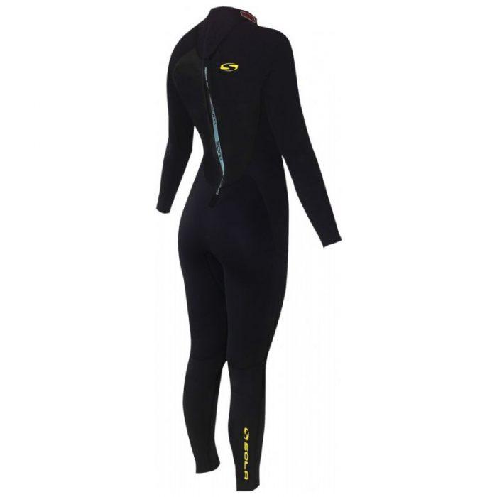 combinaison surf femme 5 4 mm backzip
